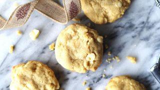 Gluten-Free White Chocolate Macadamia Cookies