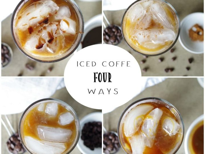 Iced Coffee Recipe Homemade Iced Coffee Four Ways