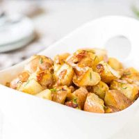 Bacon Ranch Potatoes in Pressure Cooker ~Sweet & Savory by Shinee