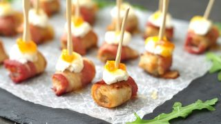 Spicy Sausage and Bacon Appetizers