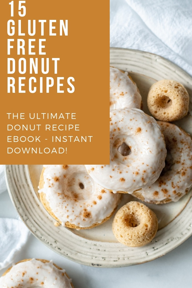 15 Gluten-Free Donuts Recipe Ebook