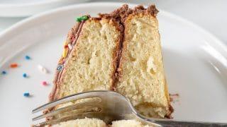 Easy Gluten-Free Vanilla Cake