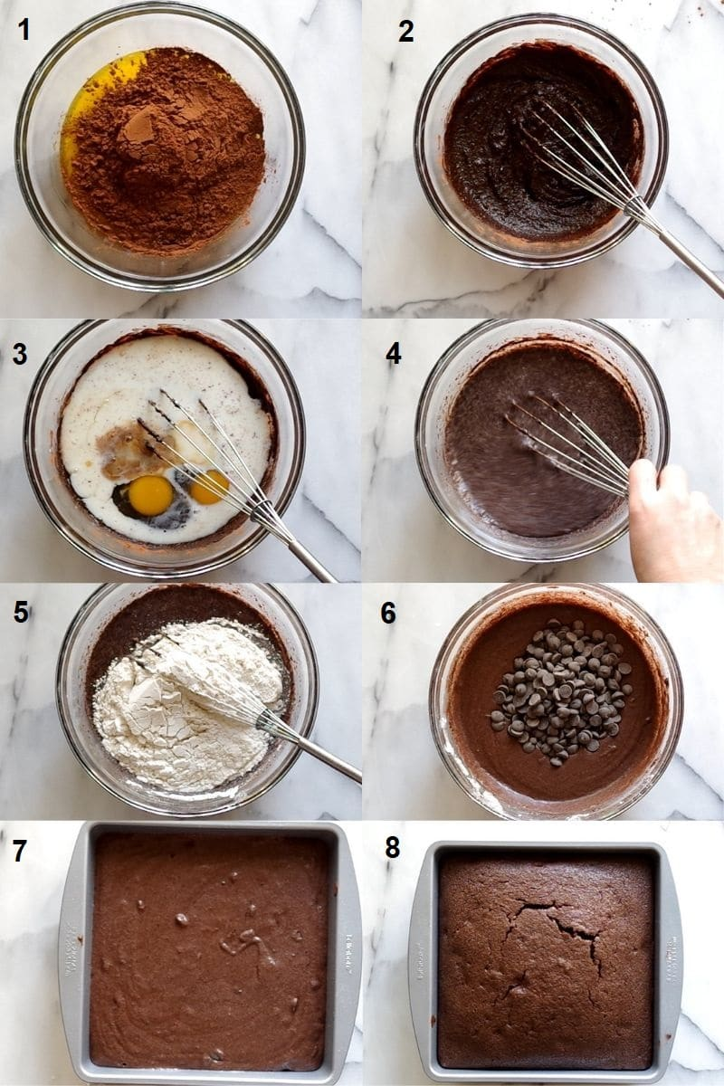 how to make gluten free brownies