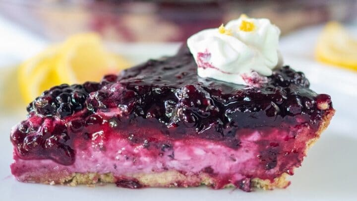 Blackberry Cream Cheese Pie