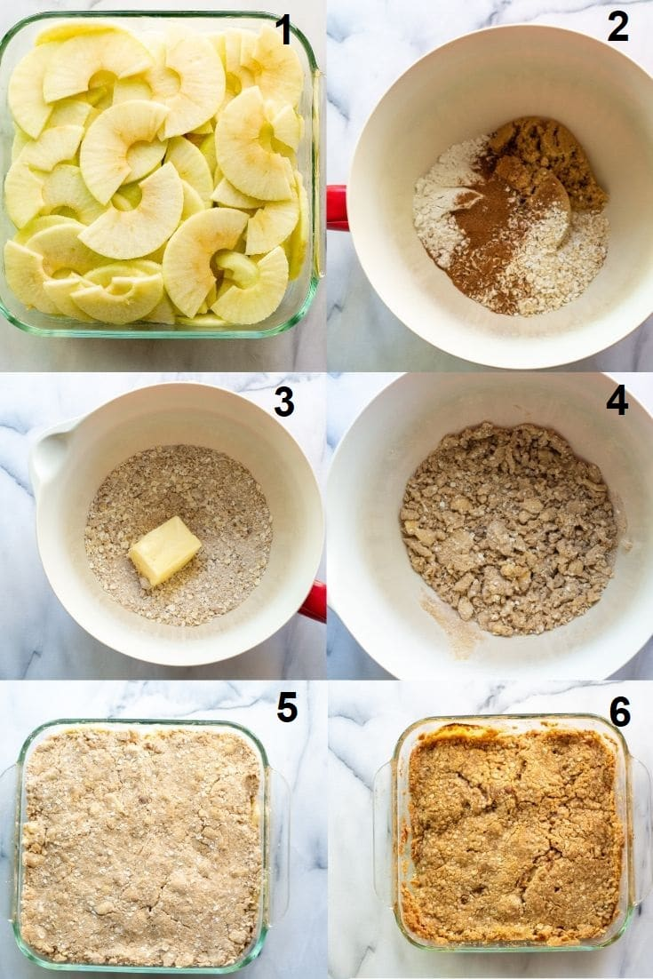 how to make gluten free apple crisp