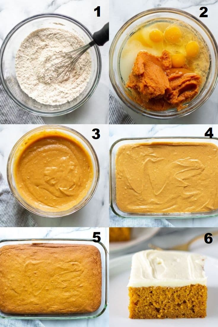 steps how to make gluten free pumpkin cake