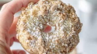 Gluten Free Crumb Donuts