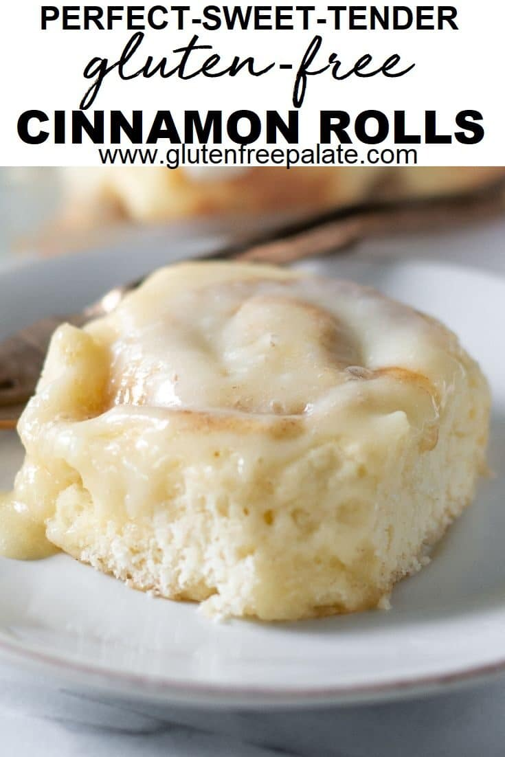 gluten free cinnamon rolls pinterest pin collage