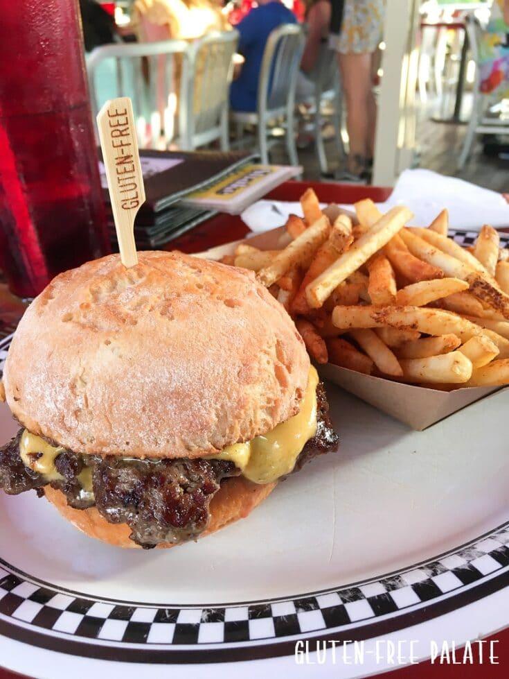 gluten free burger on maui