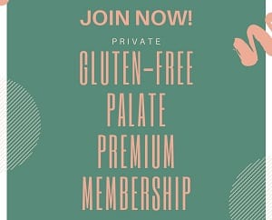 box with words join now private gluten free palate membership