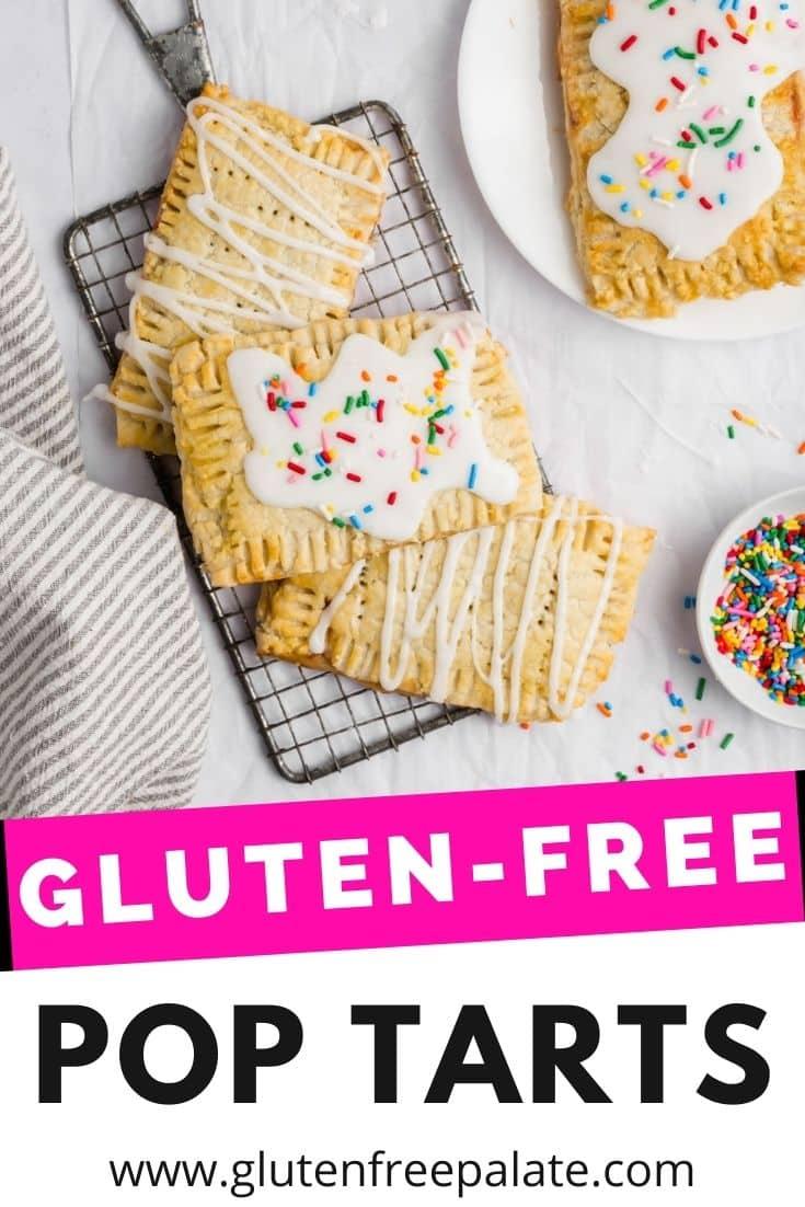 gluten free pop tart pinterest pin collage